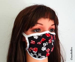 Mehrweg Mund-Nasen-Maske 2-lagig aus Baumwolle