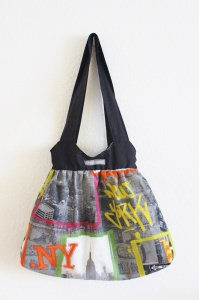 Handtasche, Wendetasche, New York