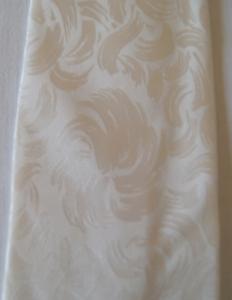weiße Krawatte mit eingewebtem Muster PINSELSTRICHE  - Handarbeit kaufen