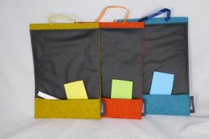 Schreibtafel, Memoboard, Türschild zur individuellen Beschriftung mit Kreide auf Tafelfolie - Handarbeit kaufen