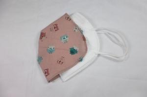 FFP2 Cover, Überzug für FFP2 Masken, Baumwollüberzug, Eulen, handgemacht von Dieda