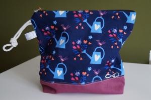 Kosmetik Tasche/ Cluch farbenfroh und fröhlich  ♥   - Handarbeit kaufen