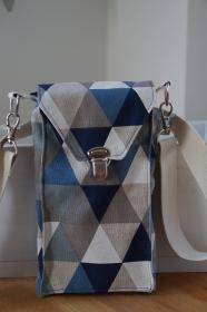 ♥Vroni♥ die  HANDYTASCHE als Crossbag   - Handarbeit kaufen