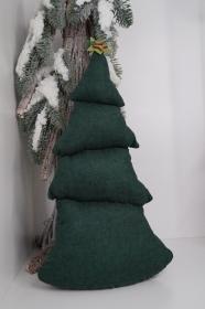★ DEKO BAUM XL ★ wundervolle weihnachtliche Dekoration aus Stoff - Handarbeit kaufen