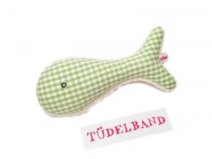 Babyrassel...Fisch Fiete...grün...Teddyplüsch ⚓