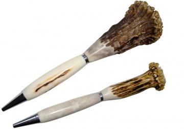 Kugelschreiber aus Hirschhorn/Rehhorn