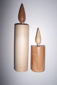 Holzkerze - gefahrloses Kerzenlicht! Teelicht