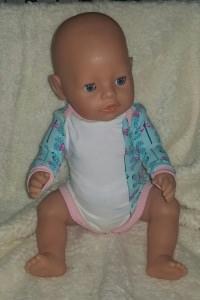 Puppenbody für Gr. 40-43cm Puppen Puppenkleidung  Einzelstück