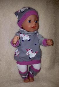 5 tlg.Puppenset für Gr. 40 -43cm Puppenkleidung  Einzelstück