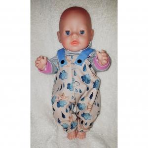 Matschhose  Buddelhose  für Puppen von Gr. 40 -43cm Puppenkleidung