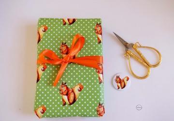 Geschenkpapier Eichhörnchen