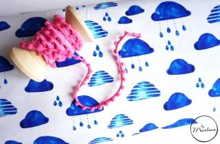 BIO Jersey blaue Wolken Eigenproduktion