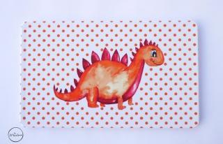 Frühstücksbrettchen Dino personalisiert