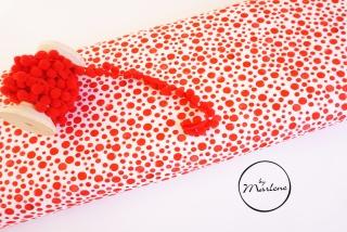 BIO Jersey rote Punkte Eigenproduktion