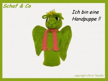 ♥♥ Handpuppe -kleiner,süßer Drachen♥reizende Drachenlady als Handpuppe ♥♥♥