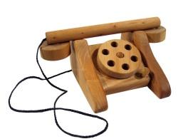 Traditionelles Telefon natur