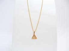 Geometrie Gold Dreieck 3D Kugelkette Gold