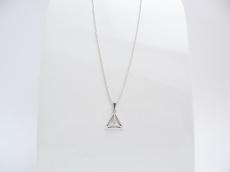 Geometrie Silber Dreieck 3D Kugelkette Silber