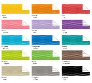 Pünktchen Fotokarton 300g/m² 49,5 x 68 cm viele Farben