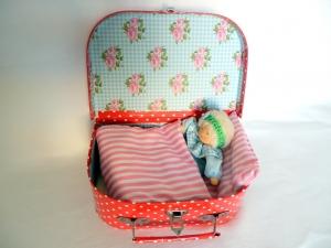 Puppenkoffer Spielkoffer Puppenbett Puppe----- Paketversand 5,00