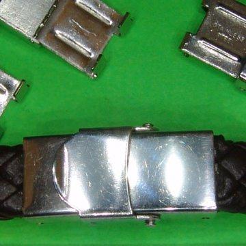 Edelstahl Clip Verschluss ohne Kleben für 10mm (Uhren)Band