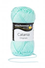 Farbe 385 mint Catania (von Schachenmayr) 100 % Baumwolle ♥ Mäusewerkstatt ♥