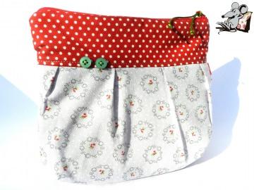 *Mini-Gretelies* klein *little rose* Schminktäschchen ♥Mäusewerkstatt♥ - Handarbeit kaufen