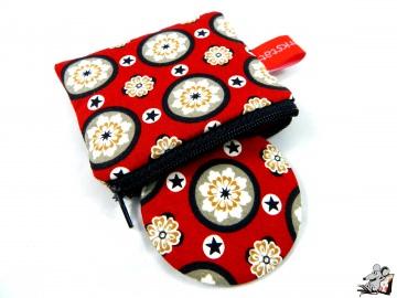 Taschenspiegel-Set *ornaments* rot ♥ Mäusewerkstatt ♥