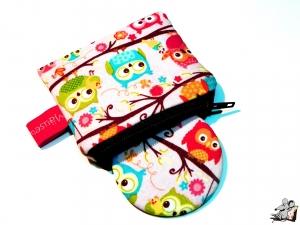 Taschenspiegel-Set *happy flappers* rosa ♥Mäusewerkstatt♥