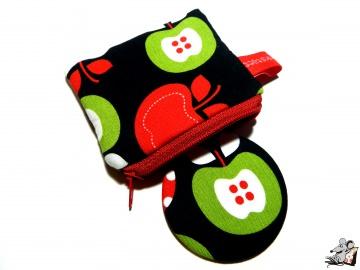 Taschenspiegel-Set *Apfel-Variationen* ♥Mäusewerkstatt♥  - Handarbeit kaufen