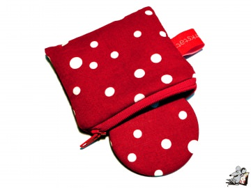 Taschenspiegel-Set *dancing dots* ♥Mäusewerkstatt♥