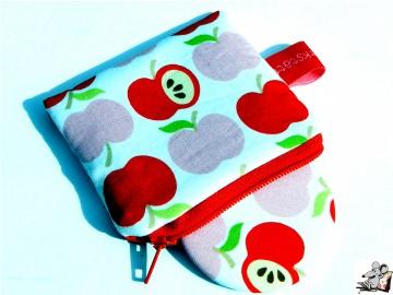 Taschenspiegel-Set *an apple a day* rot ♥Mäusewerkstatt♥ - Handarbeit kaufen