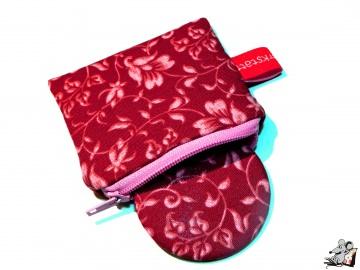 Taschenspiegel-Set *Blütenranke* ♥Mäusewerkstatt♥ - Handarbeit kaufen