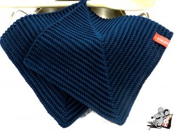 Topflappen gehäkelt (1 Paar) *jeans* 100% Baumwolle ♥Mäusewerkstatt♥