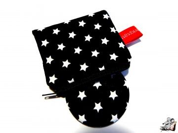 Taschenspiegel-Set *Sternchen* schwarz ♥Mäusewerkstatt♥