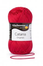 Farbe 424 kirsche Catania (von Schachenmayr) 100% Baumwolle ♥Mäusewerkstatt♥