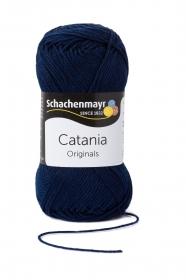 Farbe 124 marine Catania (von Schachenmayr) 100 % Baumwolle ♥ Mäusewerkstatt ♥