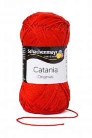 Farbe 115 signalrot Catania (von Schachenmayr) 100 % Baumwolle ♥ Mäusewerkstatt ♥