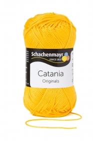 Farbe 208 sonne Catania (von Schachenmayr) 100 % Baumwolle ♥ Mäusewerkstatt ♥
