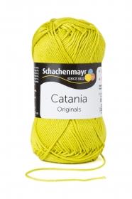 Farbe 245 anis Catania (von Schachenmayr) 100 % Baumwolle ♥ Mäusewerkstatt ♥