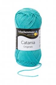 Farbe 253 jade Catania (von Schachenmayr) 100 % Baumwolle ♥ Mäusewerkstatt ♥