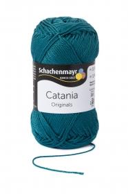 Farbe 391 petrol Catania (von Schachenmayr) 100 % Baumwolle ♥ Mäusewerkstatt ♥