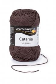 Farbe 415 zartbitter Catania (von Schachenmayr) 100 % Baumwolle ♥ Mäusewerkstatt ♥