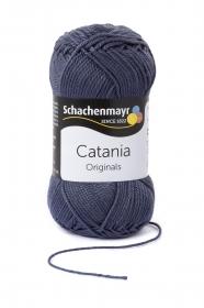 Farbe 393 graphit Catania (von Schachenmayr) 100 % Baumwolle ♥ Mäusewerkstatt ♥