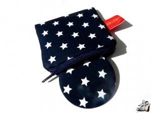 Taschenspiegel-Set *Sternchen* dunkelblau ♥Mäusewerkstatt♥