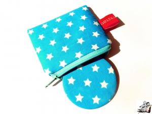 Taschenspiegel-Set *Sternchen* türkis ♥Mäusewerkstatt♥ - Handarbeit kaufen