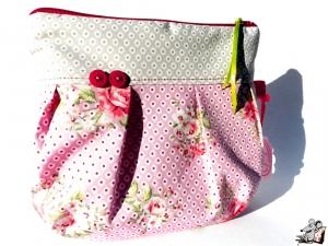 *Mini-Gretelies* klein *Röschen* rosa Schminktäschchen ♥Mäusewerkstatt♥