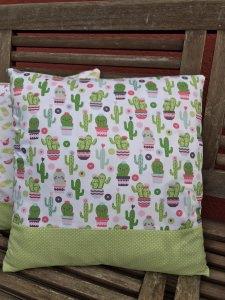 Kissenbezug Kaktusliebe ❤️ 40 x 40 cm