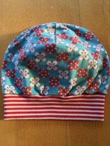 Mütze Retroblumen Gr.51