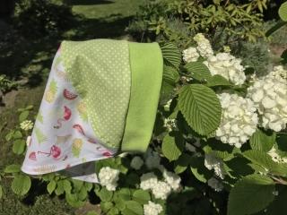 Kopftuch für kleine Mädchen mit Flamingos